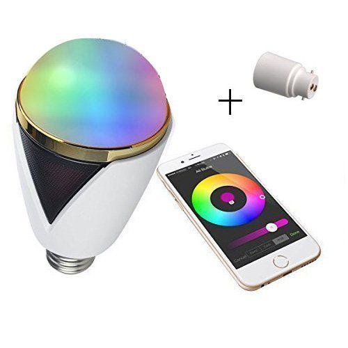 lampe avec haut-parleur Bluetooth contrôle tes lumières