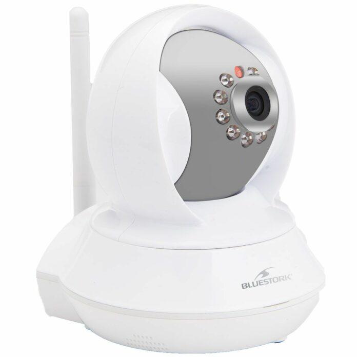Caméra de surveillance connectée rotative à vision nocturene Bluestork BS-CAM/R/HD 720p