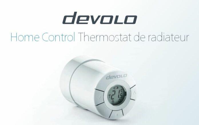 thermostat de radiateur devolo home control 9512 sans fils