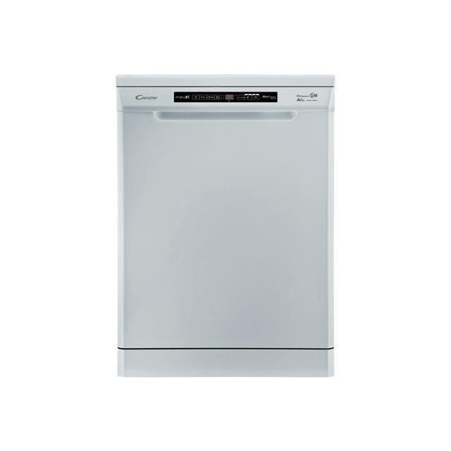 Le lave vaisselle connecté CANDY CDPM 96390F a une capacité de 16 couverts et propose 12 programmes pré-paramétrés pour un lavage efficace et précis.