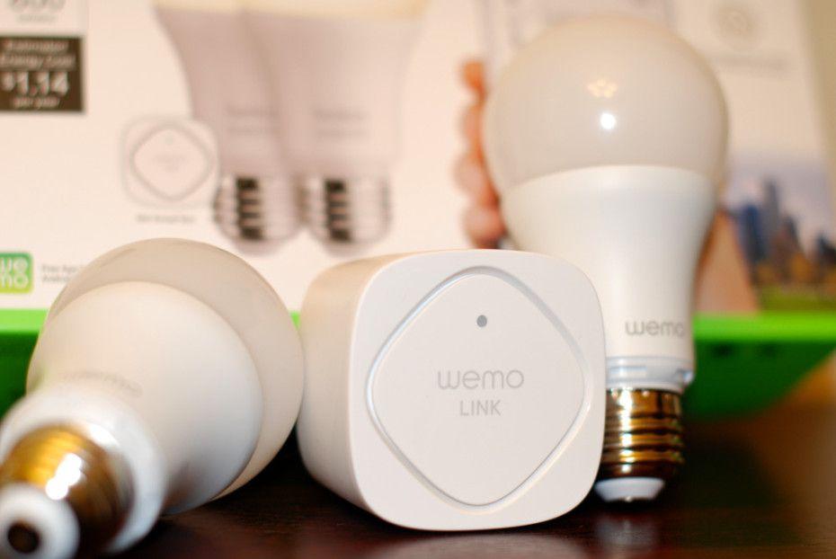 Pack de démarrage ampoule connectée WEMO LED Smart Light BELKIN