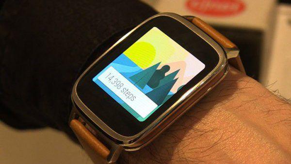 montre intelligente ZenWatch 2 connectée de chez asus