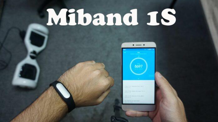 Bracelet connecté Xiaomi Mi Band 1S