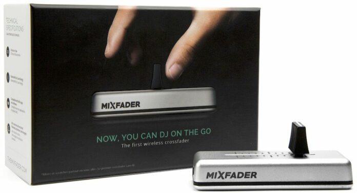 Table de mixage connectée Mixfader Crossfader